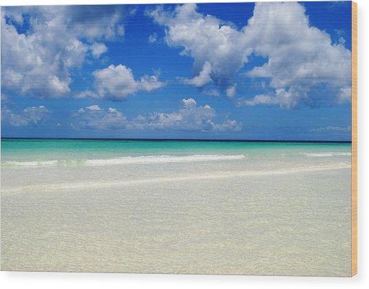 Bahama's Heaven Wood Print by Karla Kernz