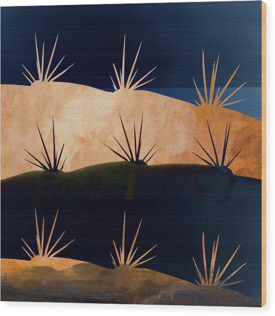 Baja Landscape Number 1 Square Wood Print
