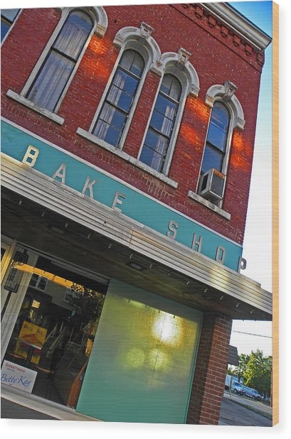 Bake Shop Wood Print