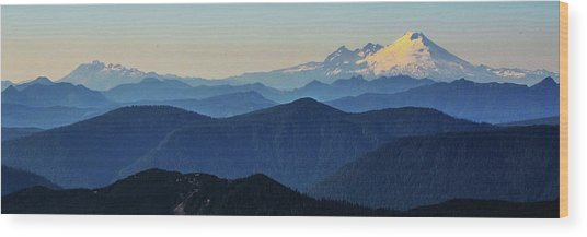 Baker From Pilchuck Wood Print