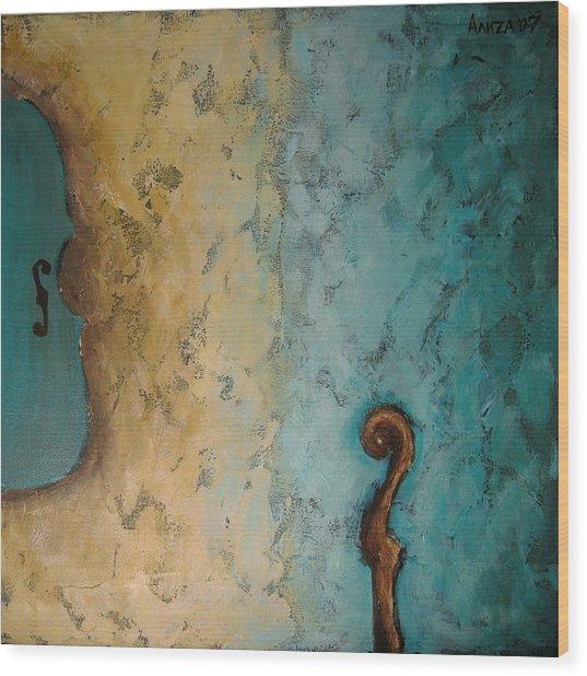 Balance Wood Print by Aliza Souleyeva-Alexander