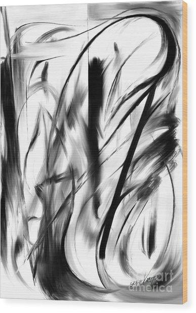 Balance Wood Print