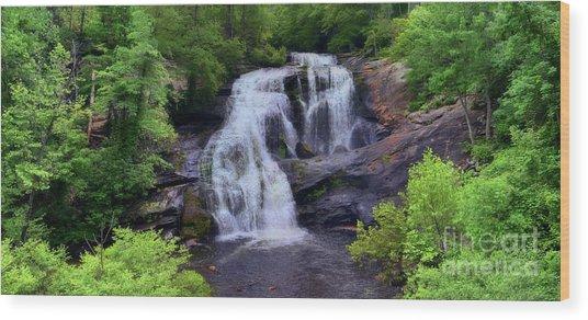 Bald River Falls, Tenn. Wood Print