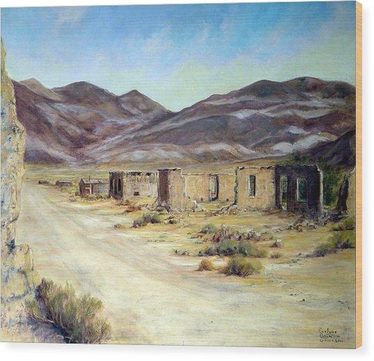 Ballarat California Wood Print by Evelyne Boynton Grierson