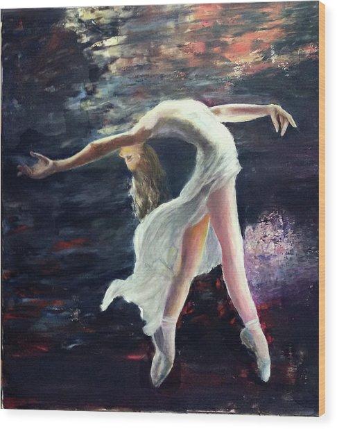Ballet Dancer 2 Wood Print
