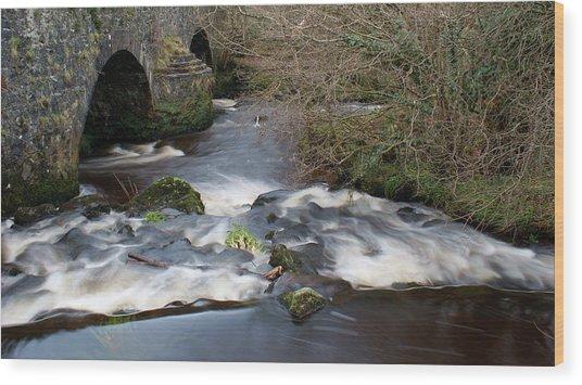 Ballinderry River Wood Print