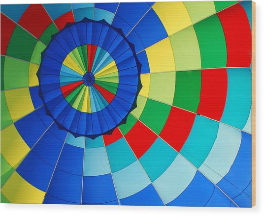 Balloon Fantasy 8 Wood Print
