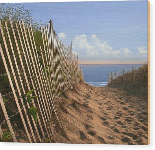 Balston Sunrise Wood Print