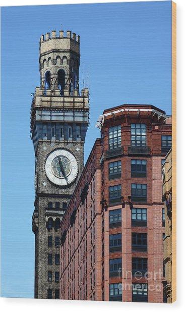 Baltimore Bromo Seltzer Tower Wood Print