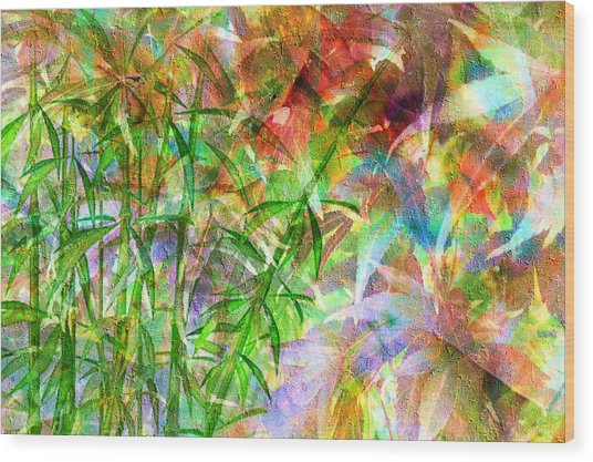 Bamboo Paradise Wood Print
