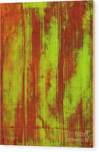 Bamboo Spy  1 Wood Print by Teo Santa