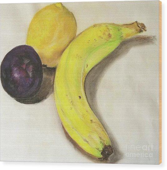Banana And Company Wood Print