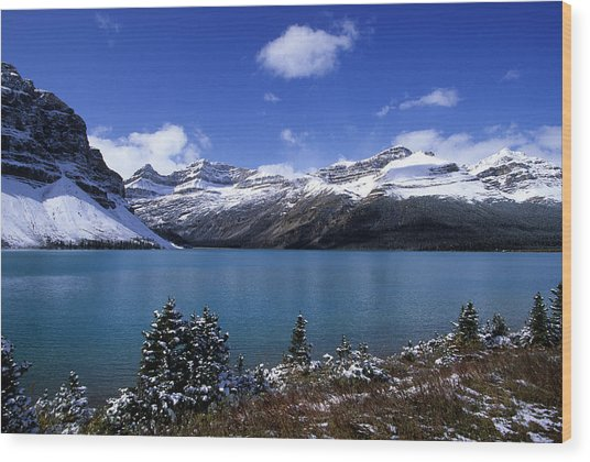 Banff National Park Wood Print by Susan  Benson