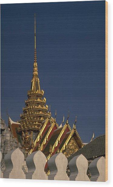 Bangkok Grand Palace Wood Print
