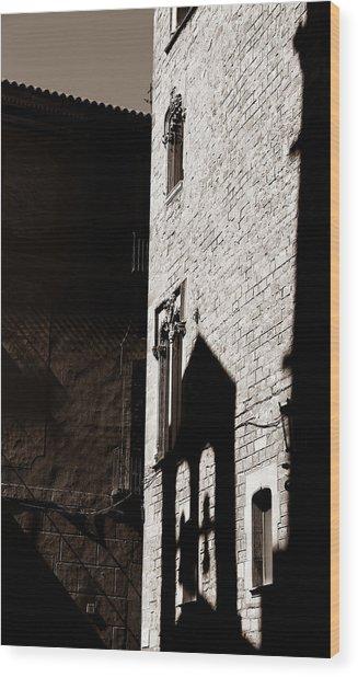 Barcelona 2b Wood Print