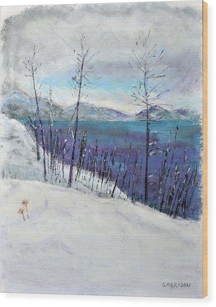 Bare Wood Print by Marina Garrison