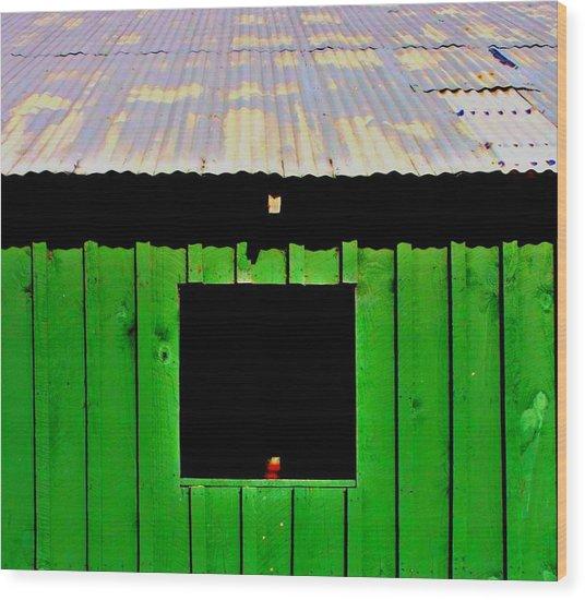 Barn Wood Print by Jill Tennison