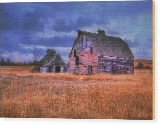 Barns Brothers Wood Print