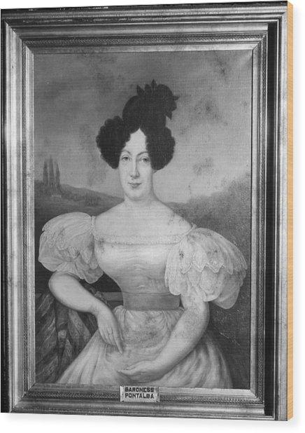 Baroness De Pontalba Wood Print