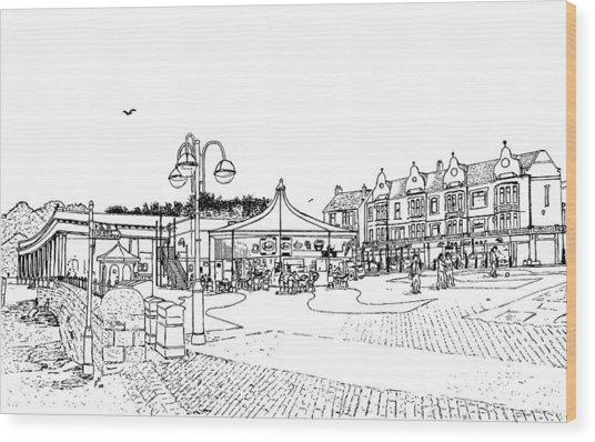 Barry Island Number 1 Wood Print