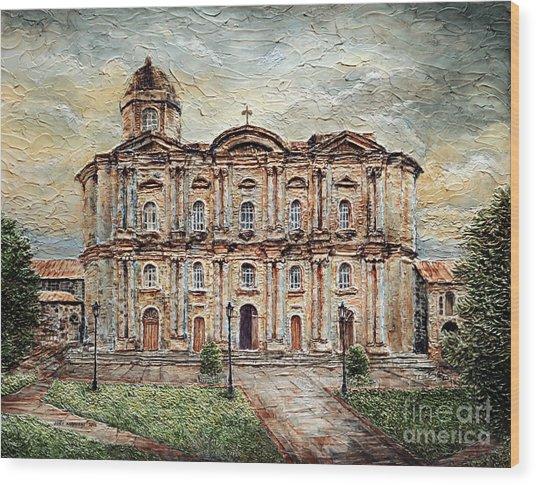 Basilica De San Martin De Tours Wood Print