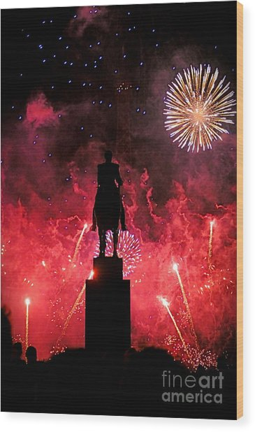 Bastille Day Wood Print by Louise Fahy