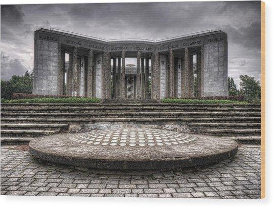 Bastogne Wood Print