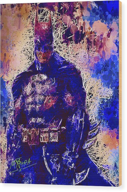 Batman Wood Print