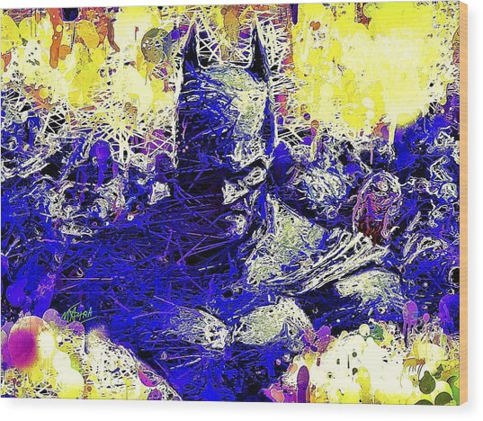 Batman 2 Wood Print