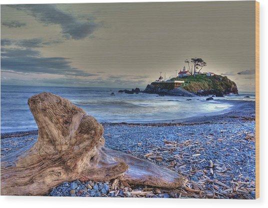 Battery Point 2 Wood Print by Peter Schumacher