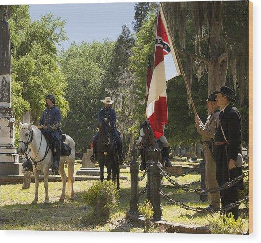 Battle Of Selma - Color Wood Print