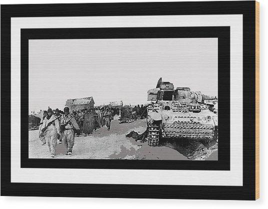 Battle Of Stalingrad 1943 Color Added 2016 Wood Print