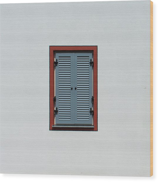 Bavarian Windows 5 Wood Print