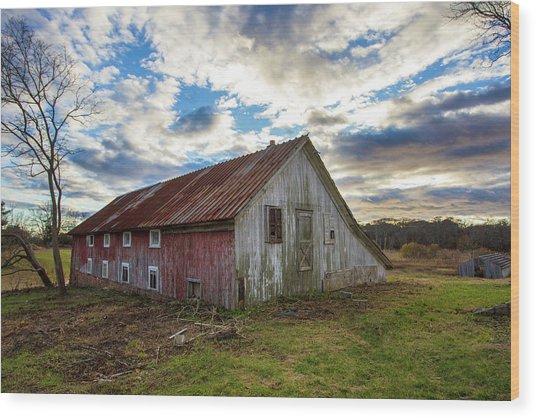 Bay Avenue Barn Wood Print