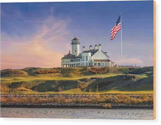 Bayonne Golf Club Wood Print