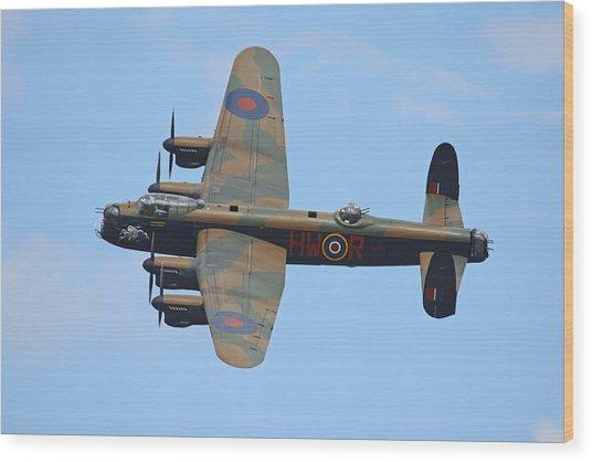 Bbmf Lancaster Bomber Wood Print
