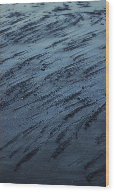 Beach Abstract 20 Wood Print