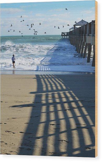 Beach Bliss Wood Print