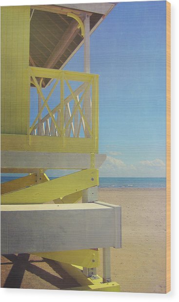 Beach Day Wood Print by JAMART Photography