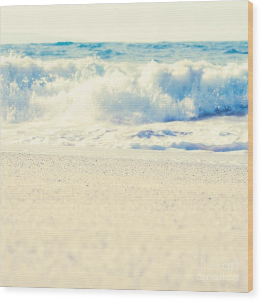 Wood Print featuring the photograph Beach Gold by Sharon Mau