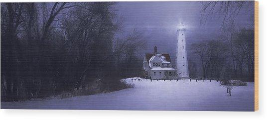 Beacon Wood Print