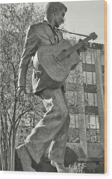 Beale Street Muse Wood Print by JAMART Photography