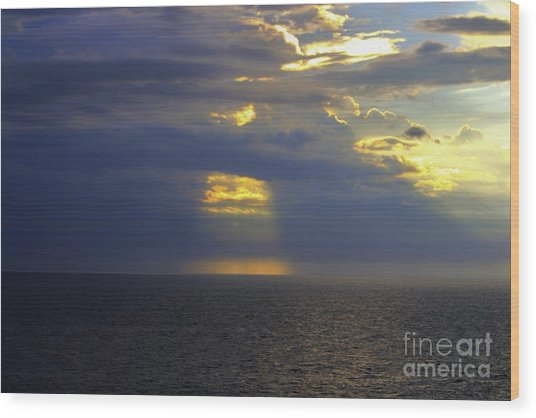Wood Print featuring the photograph Beam Me Up by Patti Whitten