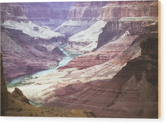 Beamer Trail, Grand Canyon Wood Print