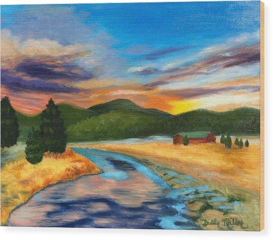 Bear Creek Colorado Wood Print