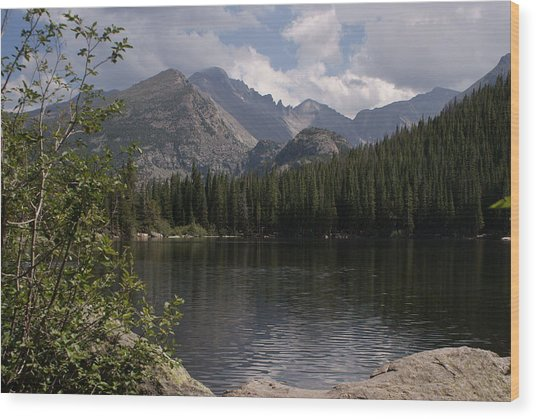 Bear Lake 1 Wood Print