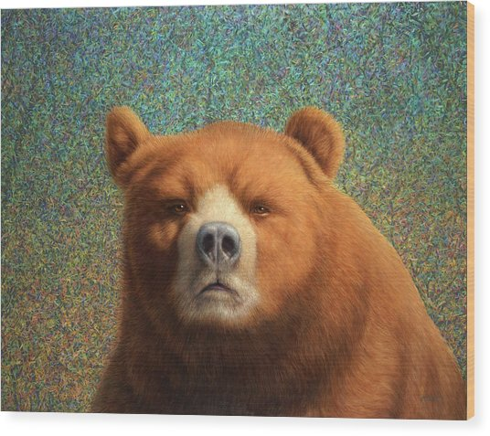 Bearish Wood Print