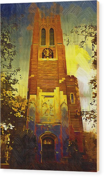 Beaumont Tower  Wood Print