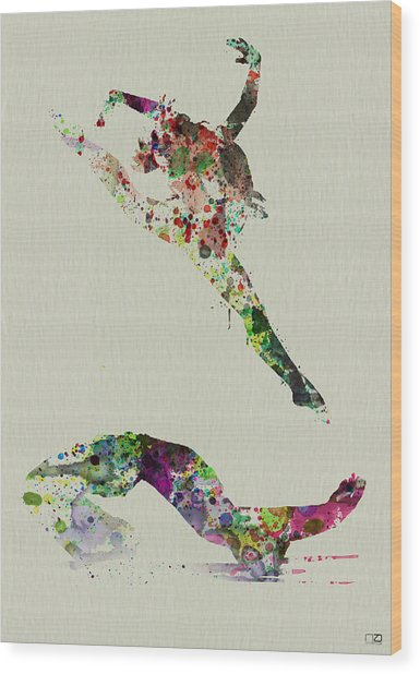 Beautiful Ballet Wood Print