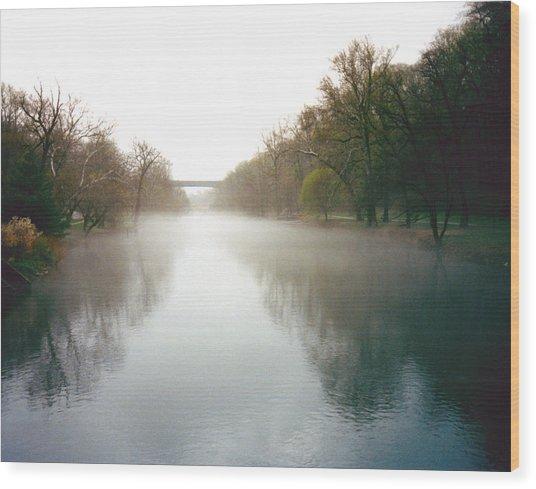 Beautiful Brandywine River Wood Print